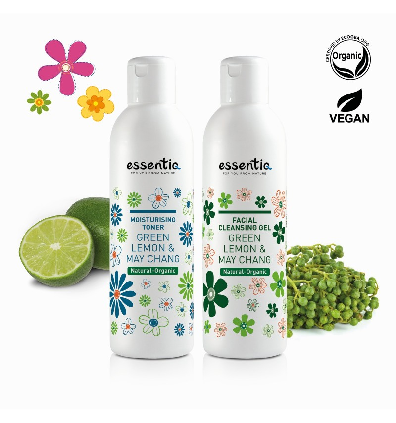 Natural Organic Facial Cleansing Valued Set