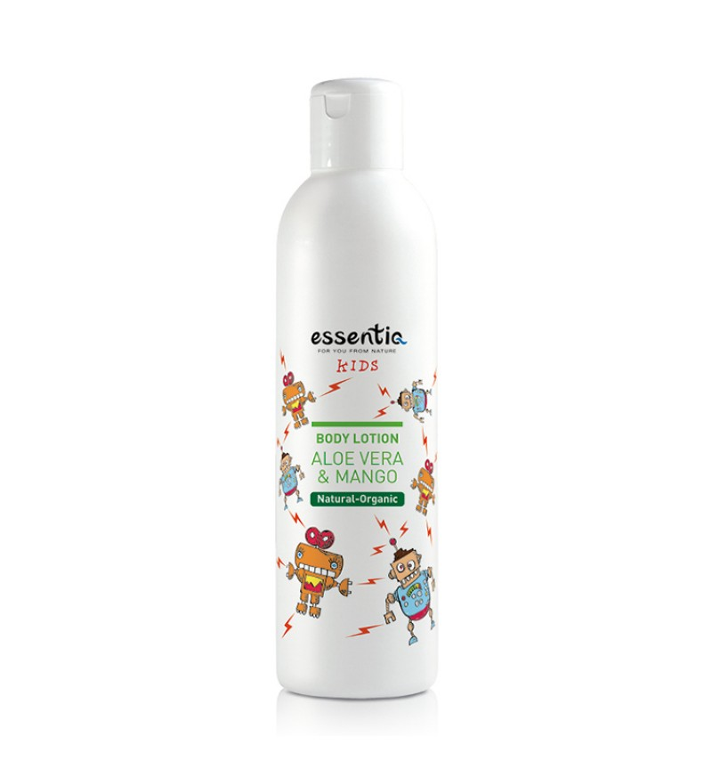 Natural Organic Body lotion KIDS - Aloe vera & Mango (250 ml)