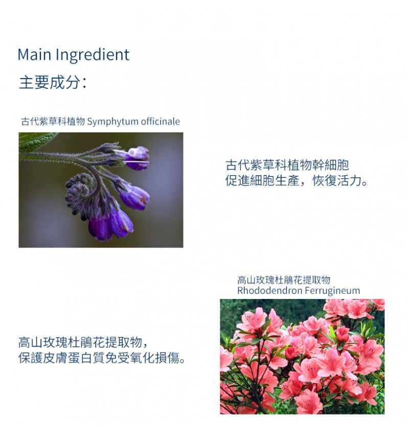 40+ Natural Organic Magic Facial Cream ( Plant stem cell + Collagen ) 50ml