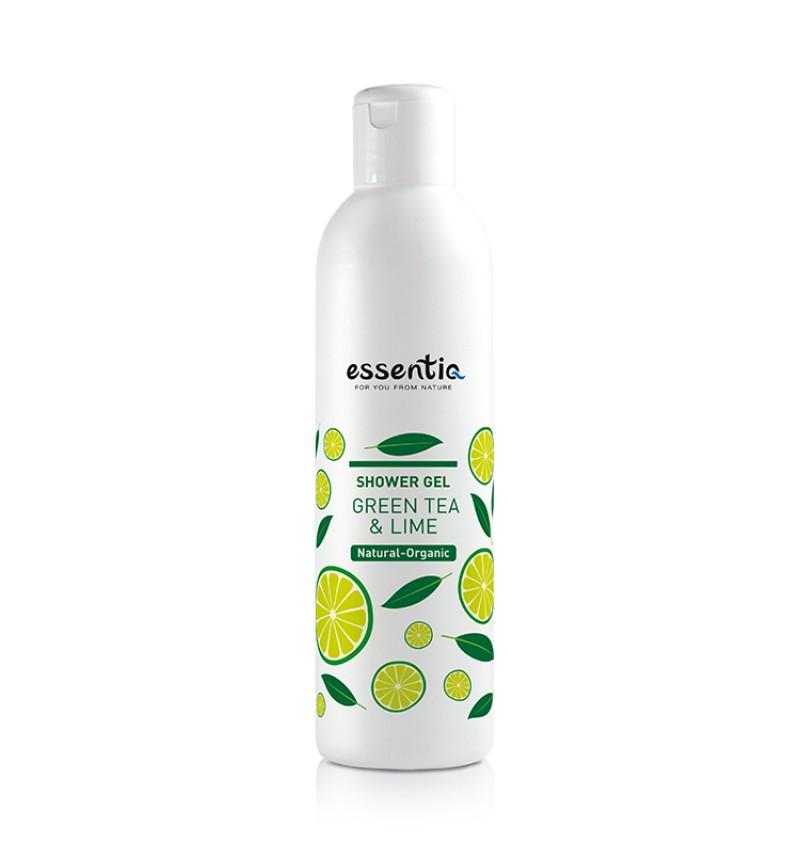 Natural Organic Shower gel  Green Tee & Lime (250 ml)
